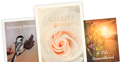 Memorial Folders | Over 200 Designs